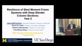 Resilience of Steel Moment Frame Systems with Deep Slender Column Sections: 2019 Disaster Resilience Symposium Thumbnail
