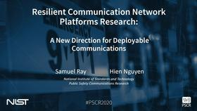 Resilient Communication Network Platform Research_On-Demand Session