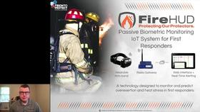 Tech to Protect  Challenge - FireHUD: Biometric IoT System for First Responders