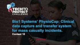 Tech to Protect Challenge - Bio1 Systems' PhysioCap