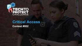 Tech to Protect - Critical Access